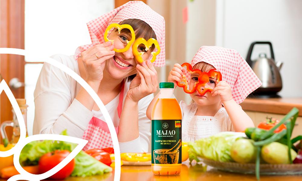 MAJAO - 4 consejos para que los niños coman verduras