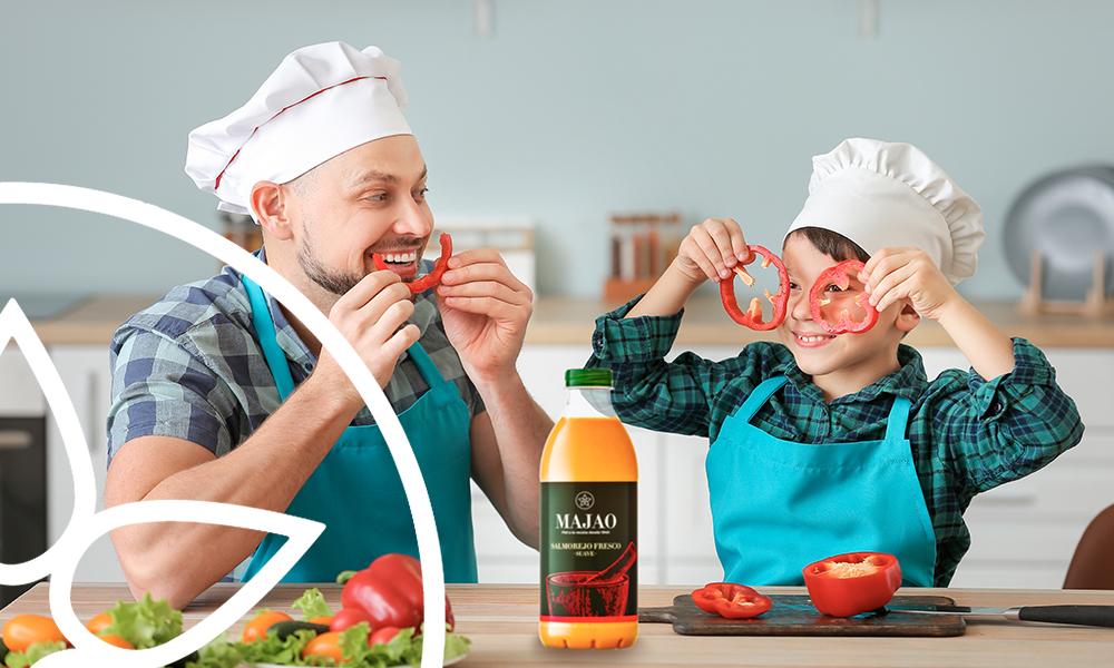 Te ayudamos a comer cinco piezas de frutas y verduras al día