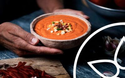 Descubre el origen del gazpacho y del salmorejo