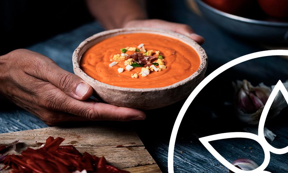 MAJAO - descbre el origen del gazpacho y del salmorejo