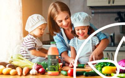 El gazpacho y los niños