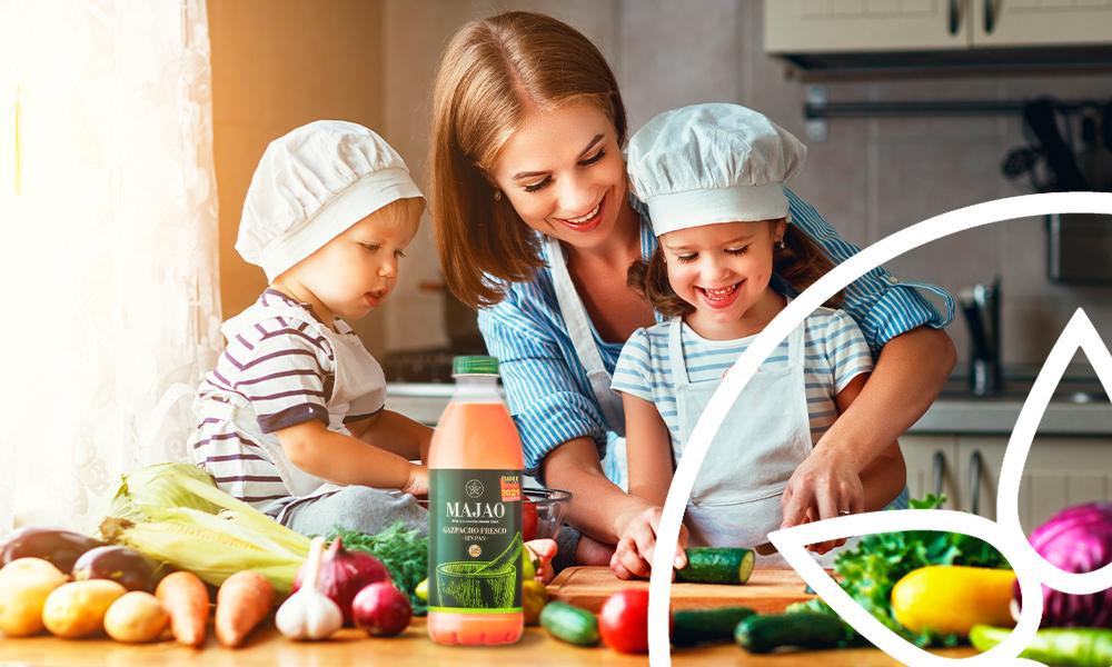 MAJAO - El gazpacho y los niños